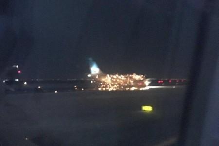 Não foi fogo no avião da Aerolineas Argentinas em JFK