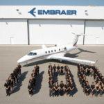 A Embraer entregou 1100 Jatos Executivos. Não é para qualquer um.
