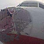 Na Turquia 3 aeronaves enfrentaram chuva de granizo no mesmo dia