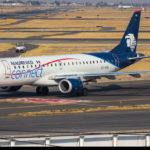 Embraer E-190 da Aeromexico Connect ultrapassou limite da pista durante decolagem