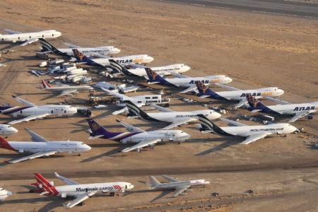 Projeção de declínio de 40% no tráfego aéreo para os próximos anos