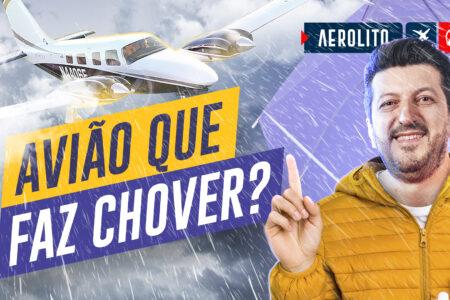 Um avião que faz chover? Como isso é possível?