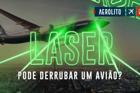 Não aponte um laser para o avião, mané!