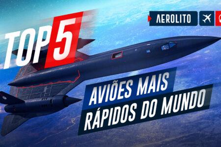 Top 5 aviões mais rápidos do mundo (militares)