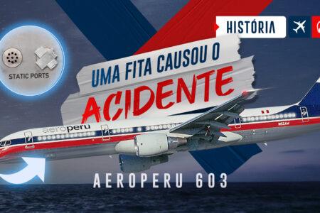 AeroPeru: Uma fita adesiva causou um acidente?