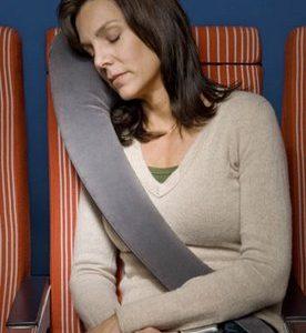 Novo travesseiro de viagem