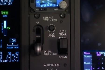 Boeing 787 aproximando-se do primeiro voo.