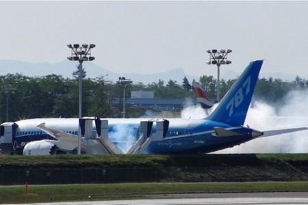 Boeing 787 – Primeira virada de motor