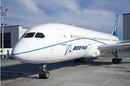 Revelada a nova pintura da Boeing pro 787