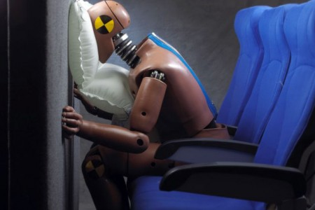 Airbags em aviões comerciais