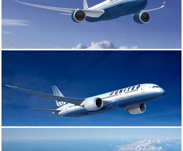 United – 25 Boeing 787, 25 A350 XWB, com opção de mais 50 de cada