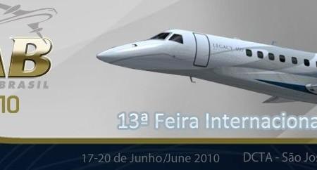 Amanhã tem início a Expo Aero Brasil 2010 em São José dos Campos