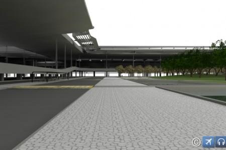 EXCLUSIVO – Projeções do novo terminal do Aeroporto Internacional de Brasília