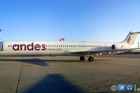 MD-80 Mad Dog da Andes – Cachorro Louco em GRU hoje #foto
