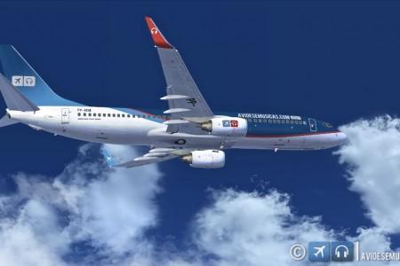 Pintura do Aviões e Músicas para o 737-800 PMDG NGX #FSX