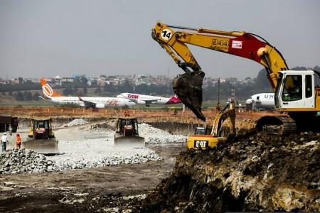 Aeroporto Internacional de Guarulhos Obras
