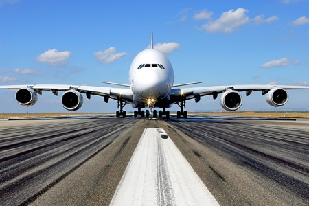Horários para fotografar o A380 na visita a São Paulo e Rio de Janeiro