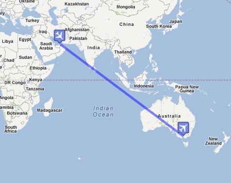 Mapa - by Google