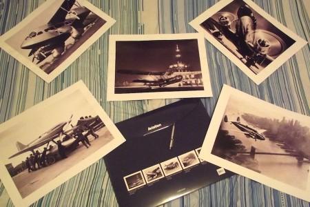 Fotos artísticas de aviação da Taschen