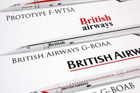 Conseguimos! Sorteio do perfil do Concorde em papel Couché feito pela Aircraft Profiles :)
