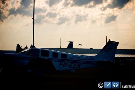 De Cascavel-PR até Oshkosh em um Bonanza A-36 #aventura