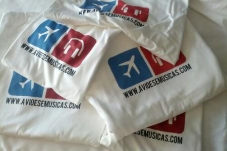 Camisetas do Aviões e Músicas