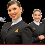 Comissário de voo: Tenho várias pequenas tatuagens pelo corpo, tenho alguma chance de ser contratado?