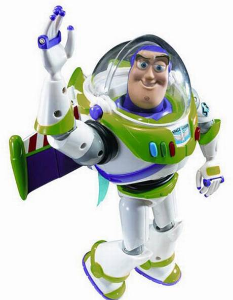 To infinity... and beyond! Buzz Lightyear