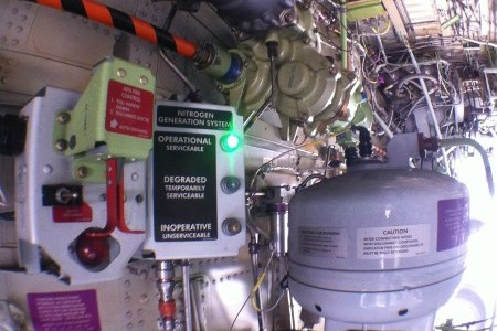 Nitrogênio nos tanques de combustivel?