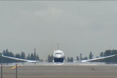 E aí? Assistiram o primeiro voo do 787-9?