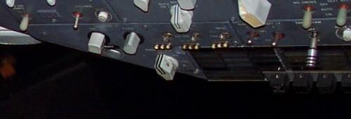 Switches de farol de pouso