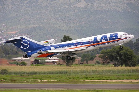Boeing 727 CP-861, Lloyd Aéreo Boliviano