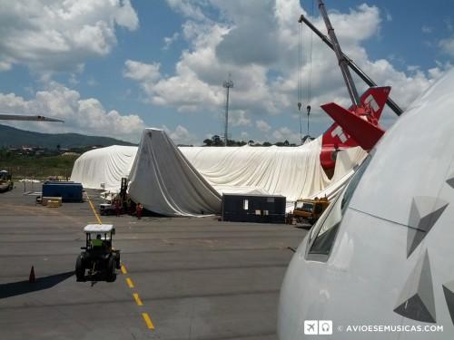 Montagem do Hangar