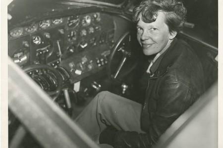 Amelia Earhart, registro da passagem por  Fortaleza em 1937
