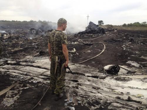 Destroços do MH17