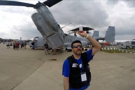 Osprey MV-22, veja de perto. #OSH14