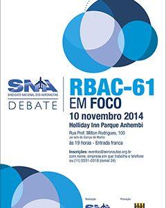 SNA: Evento gratuito debate implicações do RBAC-61
