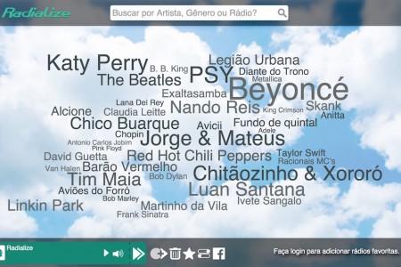 Aplicativo nacional para ouvir música de graça na Web