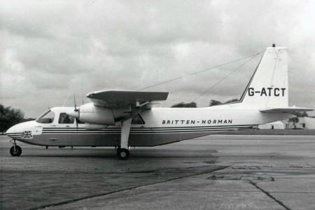50 anos do Britten-Norman Islander