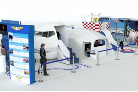 Shopping Metrópole no ABC recebe evento gratuito da Expofly e réplica de avião
