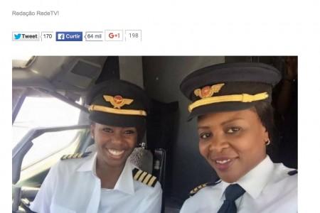Não foi a primeira vez na história que só mulheres pilotaram um 737