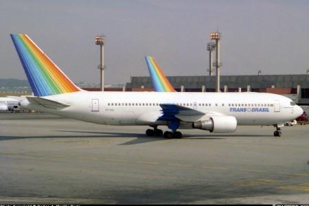 Por onde andariam os Boeing 767 da Transbrasil?