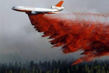Apagando incêndios – com jatos comerciais!