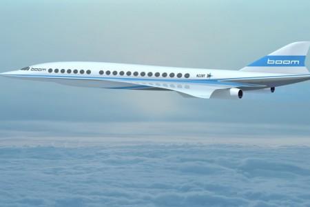 Uma nova era supersônica pra quem tem saudades do Concorde