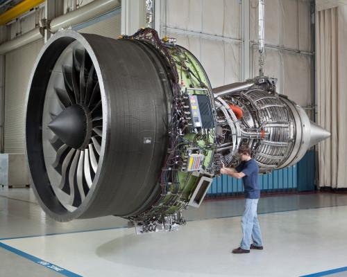 Motor GEnX 1B que equipa alguns Boeing 787 - Foto GE