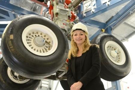 Funcionária da Airbus nominada uma das engenheiras top 50