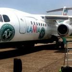 Acidente: Lamia AVRO RJ-85 em Medellin, time da Chapecoense a bordo