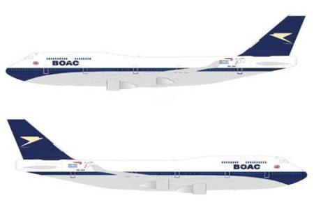 British Airways comemora 100 anos com pintura retrô