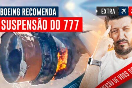 Boeing 777 proibido de VOAR?