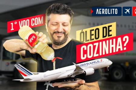Avião Voa Com Óleo de Cozinha Como Combustível
